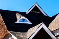 """House With The Eye,"" Leadville, Colo"